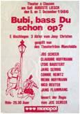 1986 Bubi - bass Du schon op