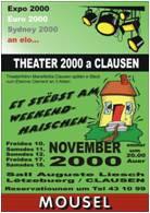 2000 Et stëbst am Weekendhaischen