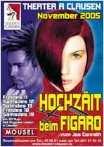 2005 Hochzäit beim Figaro